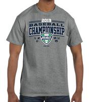 2019 Official Baseball Championship Event Adult Tee