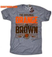 Bowling Green The Original Orange and Brown Unisex Tee