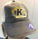 Kent State Vintage Mesh Embroidered Crew Hat