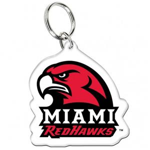Miami of Ohio Acrylic Key Ring