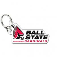 Ball State Acrylic Key Ring