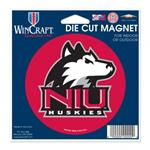 NORTHERN ILLINOIS DIE CUT MAGNET