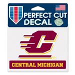 CENTRAL MICHIGAN UNIVERSITY PERFECT CUT DECAL