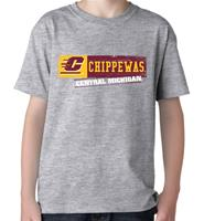 Central Michigan Stamp Youth Tee