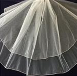Christie Helene Communion Veil White CE242