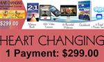 3 C. Heart Changing - 1 Payment Plan