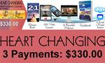 3 D. Heart Changing - x 3 Payment Plan