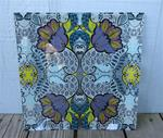 "Tapestry 13.5"" Tempered Glass Platter"