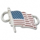 American Flag Convertible Charm