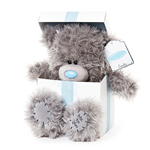 "Me To You 9"" Tatty Teddy ""PRESENT"" Plush Blue Nose Bear"
