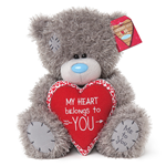 "Me To You 10"" Tatty Teddy MY HEART BELONGS TO YOU ~VALENTINES DAY Blue Nose Bear"