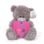 "Me To You 7"",Tatty Teddy ""LOVE HEART"" Plush"