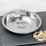 Personalised Pets - Engraved Pet Bowl