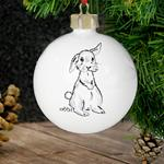 Personalised - Pet Bunny Bauble