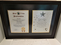 2. Exclusive Special Star Framed