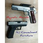 Magnetic Handgun Mounts