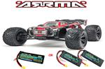 Arrma Kraton 6S BLX Brushless RTR 1/8 Monster Truggy w/6S Lipo