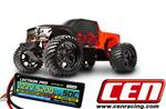 CEN Colossus MT 1/7 Scale Brushless MT w/ 6S Lipo