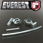 Everest Gen7 Aluminum High Steering Knuckles / Curved Aluminum Steering Link / AL Servo Link