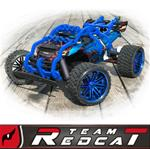 TR-MT8E & BE6S Nylon Shell Roll Cage Assembly Blue