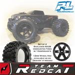 "Pro-Line Badlands MX28 2.8"" Tire Set w/ 12mm Desperado's/17mm F-11's"