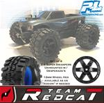 "Pro-Line Super Swampers 2.8"" Tire Set w/ 12mm Desperado's"