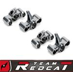 TR-MT8E & BE6S - CNC Machined Steering Block-TI Complete Set