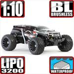 Terremoto 10 1/10 Scale Brushless 3S Ready 4x4 Monster Truck SUV Black