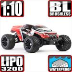 Terremoto 10 1/10 Scale Brushless 3S Ready 4x4 Monster Truck Red