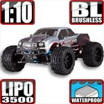 Volcano EPX Pro 4x4 Brushless Monster Truck Silver