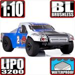 Caldera SC 10E 1:10 Scale 4x4 Brushless Short Coarse Truck Blue