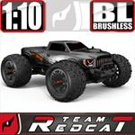 TR-MT10E 4x4 Brushless Monster Truck Gun Metal