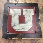 1x1 Utah Metal - White/Red/Black