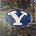 Dark Walnut painted BYU