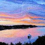 H. Rainbow Sunset Limited Edition Signed Giclee Print