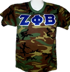 Camouflage T (with Letters)
