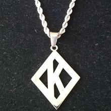 Kappa Diamond Pendant