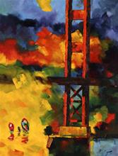 "Giclee Print ""Approaching the Gate"""