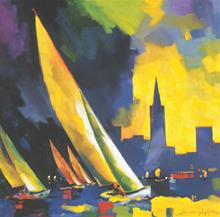 "Giclee Print ""City by the Bay"""