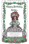Janae's Butterflies, Roses 'n' Lace 3D Card ~ Personalize