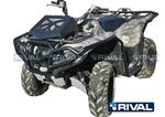 Front & Rear Bumpers + Side Bars Set for ATV Yamaha Grizzly 700, Kodiak 2016