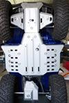 Skid plate kit for ATV Yamaha Grizzly/Bruin 350