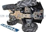 Skid plate kit for ATV Arctic Cat MudPro 700