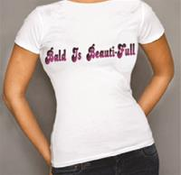 Beauti-Full-Brows Tee-Shirts Bald is Beauti-Full
