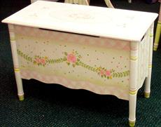 Pink Crackle Toy Chest