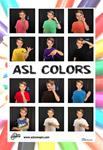 ASL Color Poster