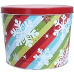 Snowflakes & Stripes 2gl Tin