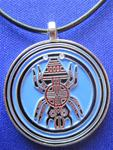 011 - Cherokee Water Spider Necklace (0025)