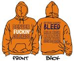 Denver Co - Orange Hoody