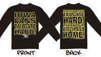 Iowa Fans Tailgate - Long Sleeve